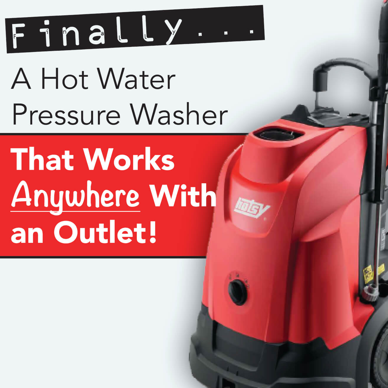 Model 333 Hot Water Pressure Washers Hotsy Pacific