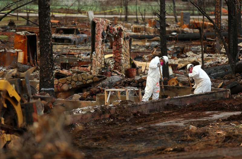 Northern California Fire Clean Up Hotsy Pacific