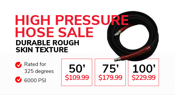 High Pressure Hose Sale
