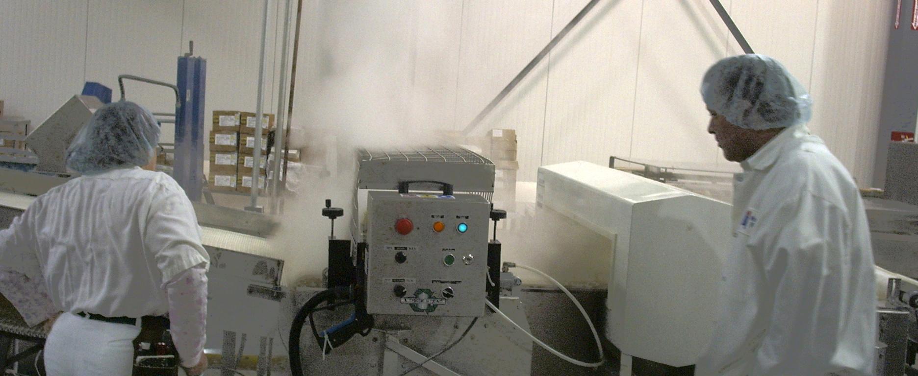 steam belt cleaner